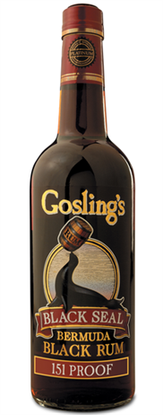 Gosling Rum Black Seal Dark 151@